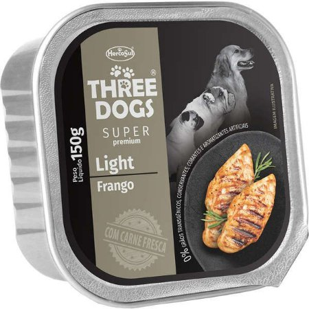 Three Dogs Light Frango 150gr