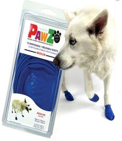 Botas Para Cachorros Pawz M Azul (4 unid)