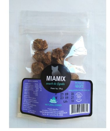Snack de Fígado Miamix 30gr