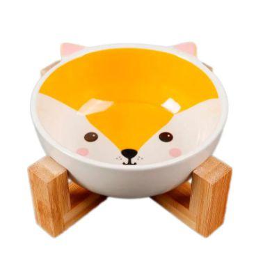 Comedouro em Cerâmica  Fox