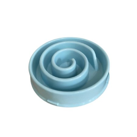 Comedouro Lento Porção Ideal  Azul