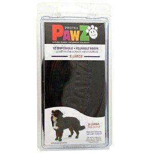 Botas Para Cachorros Pawz XL Preta (4 unid)