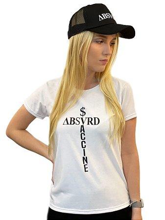 Camiseta Feminina Money Over Vaccine