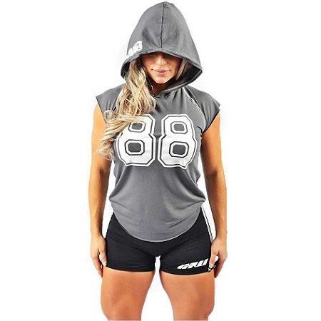 Regata de Capuz Fitness Feminina 88 - INSANO - Roupas pra quem leva ... 0c6034c888e