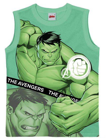 Regata Infantil Hulk Verde - Malwee