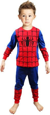 Pijama do Homem-Aranha - Vermelho e Azul