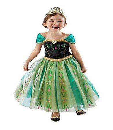 Fantasia da Anna (Frozen) - Verde