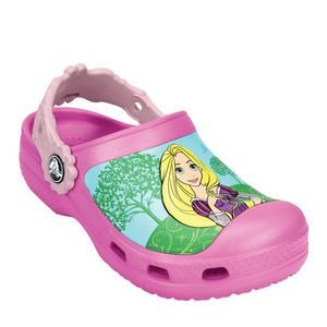 Crocs das Princesas da Disney - Rosa e Rosa Claro