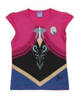 Blusa da Anna - Frozen - Disney - Pink - Brandili