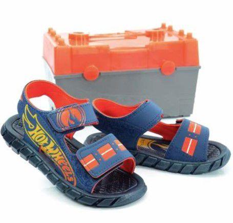 Sandália do Hot Wheels