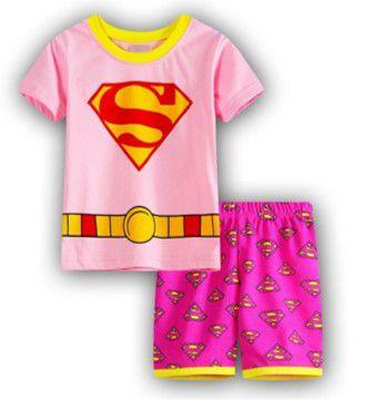 Pijama da Super Girl - Rosa