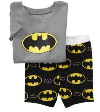 Pijama Baby do Batman - Cinza e Preto