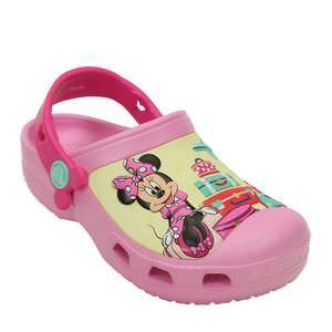 Crocs Minnie Mouse - Rosa Claro & Amarelo - Disney