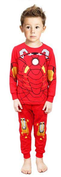 Pijama do Homem de Ferro - Vermelho