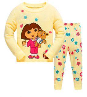 Pijama da Dora Aventureira - Amarelo