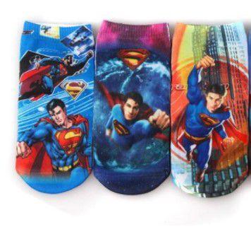 Kit de Meias do Superman (Opção 2)