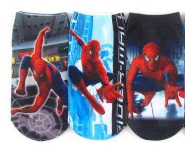 Kit de Meias do Homem Aranha (Opção 1)