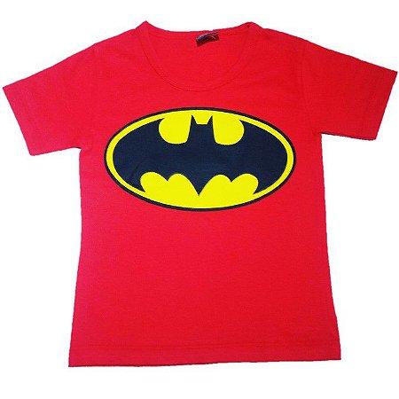Camiseta do Batman - Vemelha