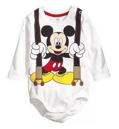 Body do Mickey - Off White