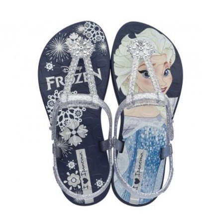 Sandália de Dedo Disney Frozen - Azul