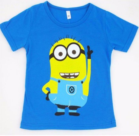 Camiseta dos Minions - Azul