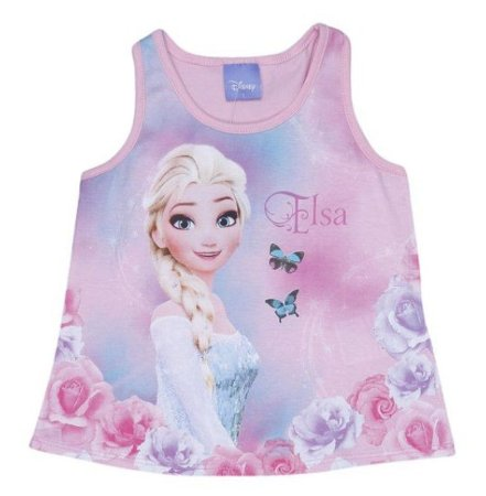 Blusa Elsa - Frozen - Rosa - Brandili