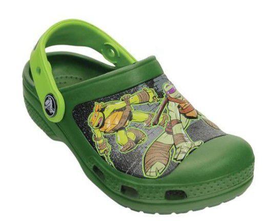 Crocs Tartarugas Ninja - Verde & Verde Limão