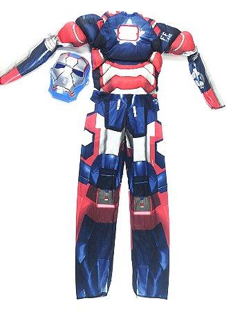 Fantasia de Luxo do Homem de Ferro - Patriota Americano