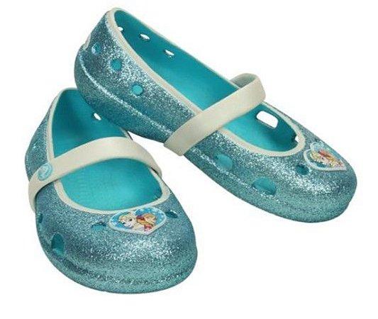 Sapatilha Crocs Frozen - Azul Turquesa