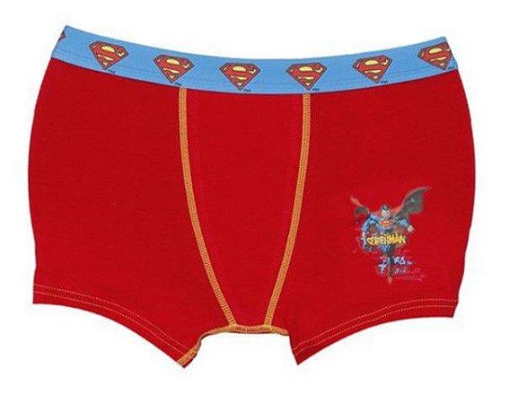 c39429f66e2eed Cueca Boxer Superman - Lupo - Vermelha e Azul