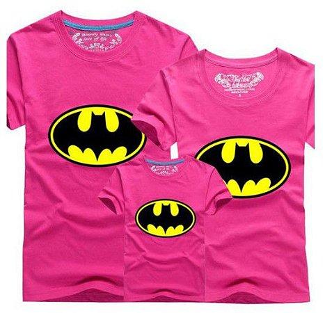 Camiseta Batman - Tal Mãe Tal Filha  - Pink