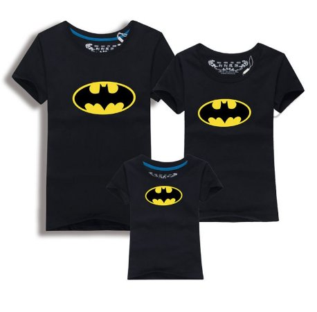Camiseta Batman Infantil - Preta