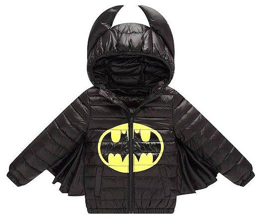Casaco do Batman com Asas - Nylon -Preto