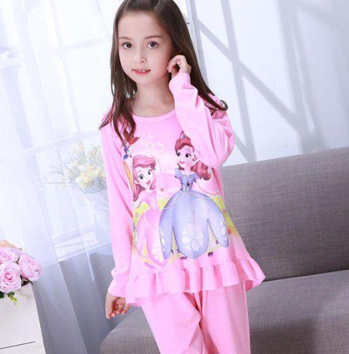 Pijama da Princesa Sofia - Rosa e Lilás