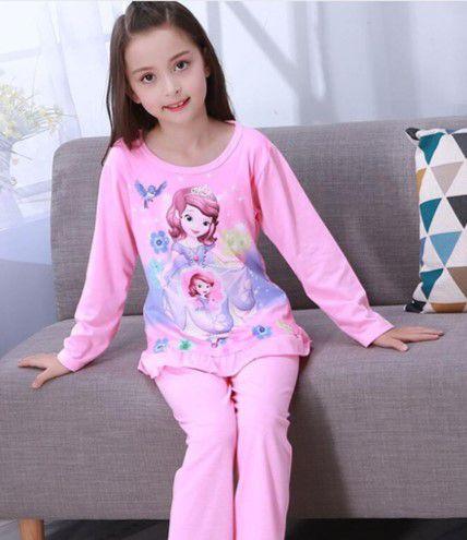 Pijama da Princesa Sofia com Flores - Rosa
