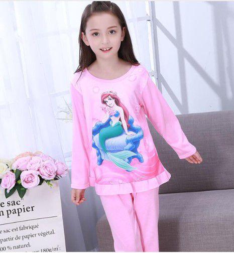 Pijama da Princesa Ariel - Rosa
