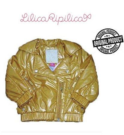 Jaqueta Lilica Ripilica Baby - Mostarda Metalizada