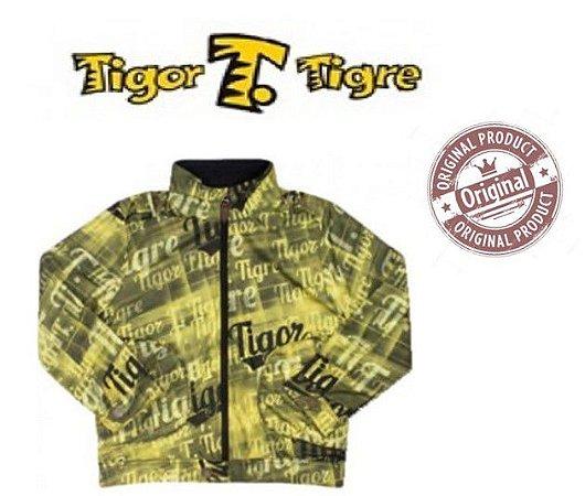 Jaqueta Tigor T Tigre - Amarelo e Preto