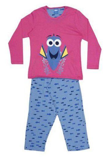 Pijama Procurando Dory - Rosa e Azul - Lupo