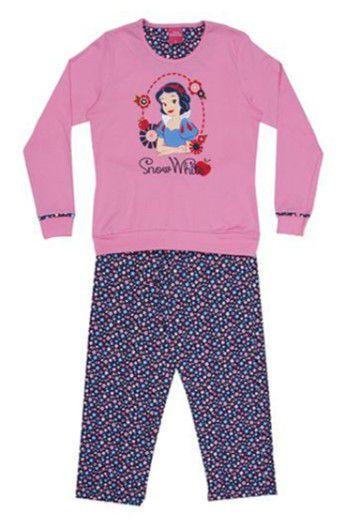 Pijama da Branca de Neve - Rosa e Azul Marinho - Lupo