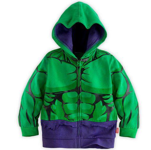 Casaco do Incrível Hulk - Coleção Super Heróis - Verde