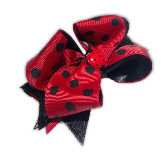 Laço de Cabelo da Ladybug