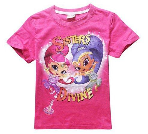 Blusa da Shimmer and Shine - Pink