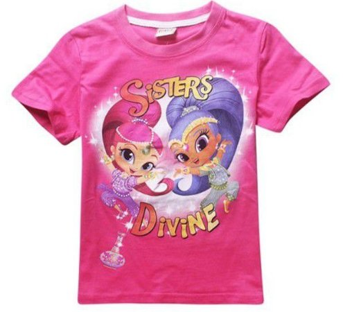 Blusa Infantil Shimmer e Shine Rosa