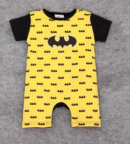 Body do Batman - Símbolo - Amarelo e Preto