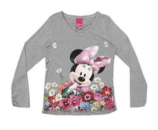 Blusa da Minnie - Cinza - Cativa Disney - AmoPersonagem d3730443764