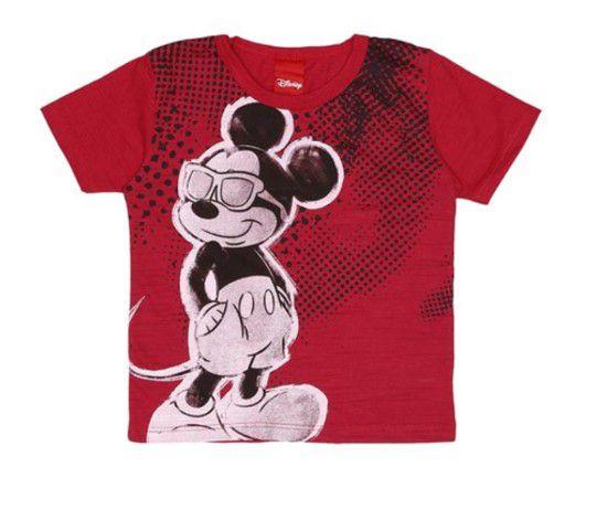 Camiseta do Mickey - Vermelho Escuro - Disney