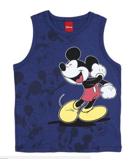 Regata do Mickey - Azul Marinho - Disney