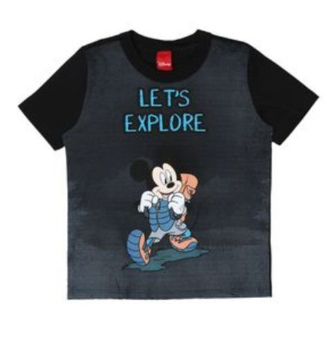 Camiseta do Mickey - Preta - Disney