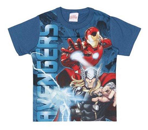 Camiseta Avengers- Azul Petróleo - Brandili